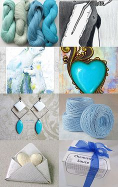 BLUE   COLLECTION by Julia Nacheva on Etsy--Pinned with TreasuryPin.com