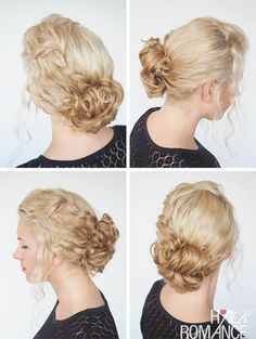 Another style from Hair Romance #curlyhairromance curly hair ebook