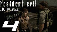 Resident Evil HD Remaster (PS4) - Chris Walkthrough Part 4 - Mansion Puz...