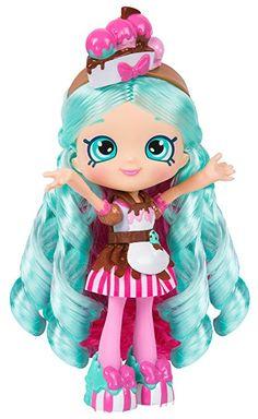 Amazon.com: Shopkins Chef Club Shoppies Peppa-Mint Doll: Toys & Games