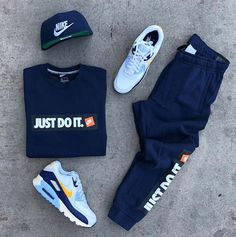You can also see more ideas about nike outfits vintage , nike outfits spring , nike outfits 2019 , white nike outfits , nike outfits jackets. Cute Nike Outfits, Swag Outfits Men, Tomboy Outfits, Tomboy Fashion, Dope Outfits, Trendy Outfits, Mens Fashion, Teen Guy Fashion, Fashion Wear