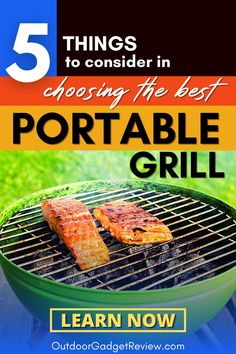 If you are looking for the best product to set up your Outdoor Kitchen or Camp grilling station, or just for your backyard grilling, you should check out this comprehensive review and guide before purchasing a Portable Grill. Bonus: Our Top 10 Best Camping Grill/Stove of 2020 #CampingGrill #PortableGrill Camping Grill, Kayak Camping, Camping Stove, Camping Meals, Camping Tips, Best Portable Grill, Cooking With Charcoal, Table Top Grill, Dutch Oven Recipes