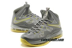 280cc8b1491b New Lebron Shoes 2013 X 10 GR Canary Diamond 541100 007 Canary Yellow  Diamonds
