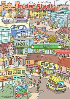 Poster - In Der Stadt