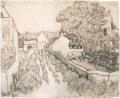 Village Street - Vincent van Gogh