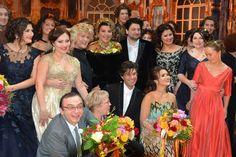"""Opera Ball"" in honor of the 75th anniversary of Elena Obraztsova at the Bolshoi Theatre"