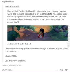 Currently geeking out on Lilo and Stitch