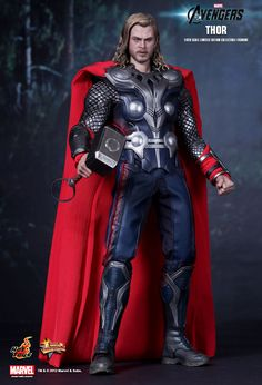 Hot Toys : The Avengers - Thor 1/6th scale Limited Edition Collectible Figurine
