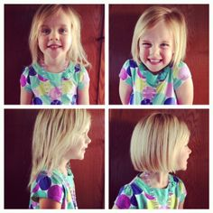 love a cute bob on little girls! Zion looks sooo cute with this cut! Check out talahairstudio.blogspot.com on wednesdays for hair related posts