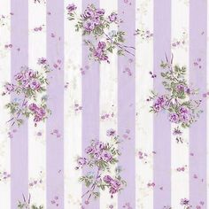 Picture 2 of 7 Shabby Chic Fabric, Shabby Chic Pink, Shabby Chic Wallpaper, Doll House Wallpaper, Flower Wallpaper, Floral Vintage, Vintage Flowers, Decoupage Vintage, Vintage Paper