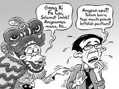 Kartun Benny, Kontan - Februari 2016: Tahun Baru Imlek