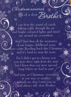 CHRISTMAS+memories+of+a+dear+brother.jpg 371×511 pixels