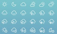 Weather-icons-by-heeyeun