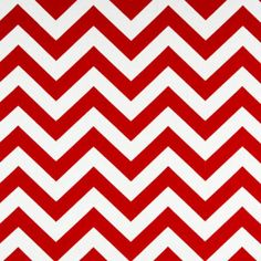 Premier Prints Fabric Zig Zag Chevron in Red by BobbieLouFabric, $3.00... Use this fabric to ma ke curtains for Tristan's room