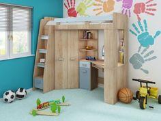 Κουκέτα παιδικό δωμάτιο ANTRES - Μοντέρνα οικονομικά έπιπλα | Euro έπιπλο - σύνθεση