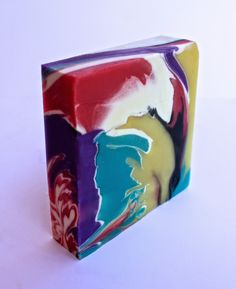 spin swirl - cold process soap