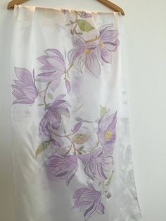 Magnolia Flower, Silk Painting, Trending Outfits, Unique Jewelry, Handmade Gifts, Flowers, Etsy, Clothes, Vintage