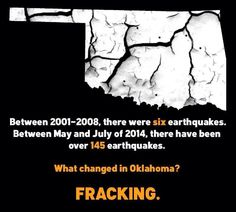 What changed? Fracking....guess what...getting even worse.