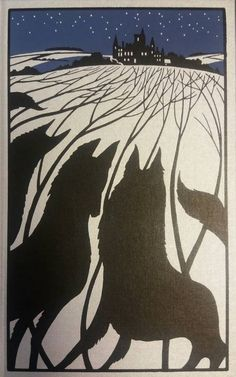 Folio Society edition of Joan Aitken's 'The Wolves of Willoughby Chase'