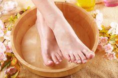 Le lait au sel pour des pieds doux et sans cors