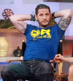 Tom Hardy  on Good Morning America this morning - to be aired likely on Sept 12,