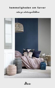 Guida colori per pareti: soggiorno con pareti neutre sui toni del ...