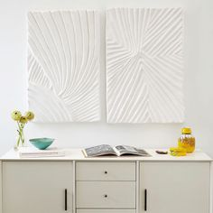 Papier Mache Canvas - West Elm & Papier Mache Wall Art - Branches #westelm   DIY-Art   Pinterest ...