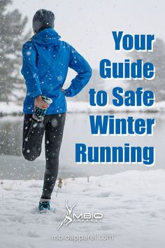 Are you planning on running outdoors this winter? Ignore the concerns and horrified looks of your peers.  Weather shouldn't stop you from getting outside and exercising. Especially not if you follow these tips.  Make sure you're prepared with the right tools and information. Winter running has its own challenges and obstacles you might not expect. #mbioapparel #runningtips #training #running Running Images, Running Quotes, Endurance Training, Race Training, How To Start Running, How To Run Faster, Running Workouts, Running Tips, Running Inspiration