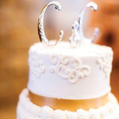letters as cake topper.