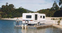 Myark trailer barge