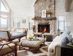 Отделка современной квартиры камнем (50 фото): солидно, стильно и уютно http://happymodern.ru/otdelka-kvartir-kamnem/ Image_40
