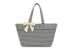 Angela Tote, Navy/White  SHARP HILLS DESIGNS    So cute!  Perfect for the beach or just strolling around town