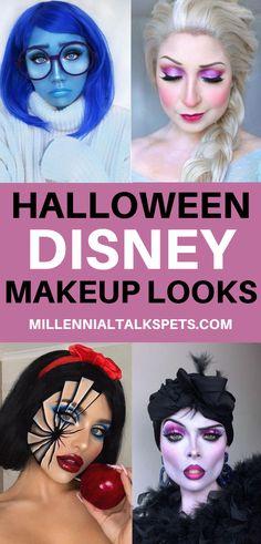 Disney Halloween Makeup, Disney Makeup, Halloween City, Halloween Costumes, Halloween College, Halloween Office, Halloween Couples, Halloween Recipe, Halloween Parties