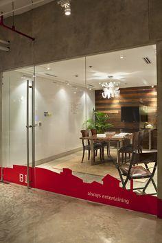 Conference room at Migo Philippines. Office designed by utwentysix design studio.