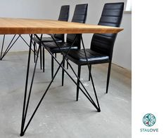 LIMITED TIME Promo PRICE Set of Steel Dine Table Legs Butterfly