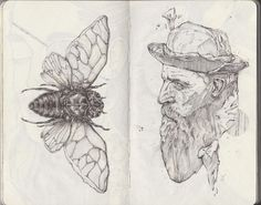 Sketchbook by Nikita Sergyshkin, via Behance