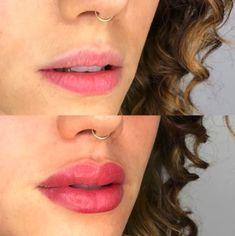 Lip Blush — Laurel Lip Color Tattoo, Lip Permanent Makeup, Tattoo Process, Cosmetic Tattoo, Up Tattoos, Makeup To Buy, Dark Lips, Lip Fillers, Lip Tint