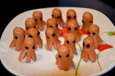 Apéro d'Halloween facile à réaliser - Transformez vos petites saucisses en fantômes