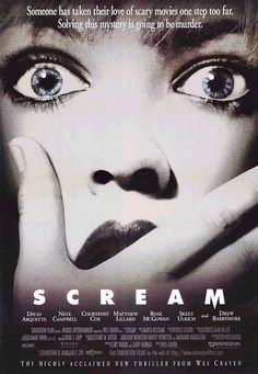 scream 1.2.3.4  Love the scream franchise!