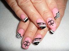 #chanel #nail #design