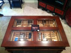 Coffee Table Cigar Humidor Review The Best Man Cave Gear Setup 39 S Pinterest