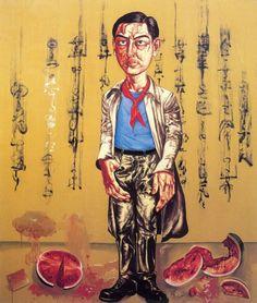 Image detail for -Zeng Fanzhi