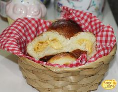 Artes da Sadhia na cozinha : Pão de leite - Recheado de queijo prato