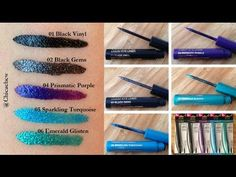 New at the Drugstore: Milani Ultra Fine Liquid Eyeliners! Review w/ Swatches