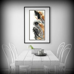 Giclee Print of Original Abstract Oil Painting Bold Art