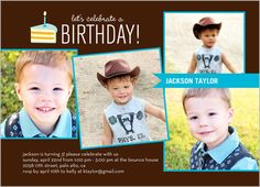 Party Boy Birthday Invitation