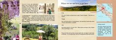 Our brochure about our painting holidays in italy | Painting Holidays Italy #travel to Marche pages 25&26