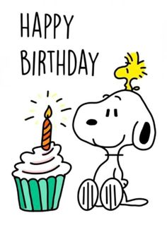 Happy Birthday Greetings Friends, Happy Birthday Meme, Birthday Wishes Funny, Happy Birthday Messages, Happy Birthday Images, Birthday Pictures, Snoopy Images, Snoopy Pictures, Snoopy Birthday