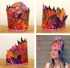 Laura McKellar - crowns for a wedding photobooth