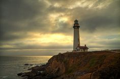 Pigeon Point Lighthouse by T F, via 500px.